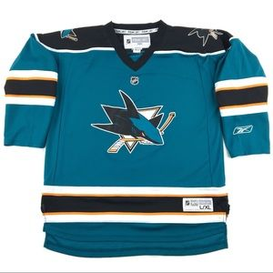 Reebok NHL San Jose Sharks Youth Hockey Jersey